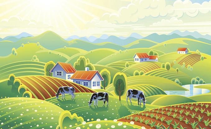Анекдот о прелестях деревенской жизни