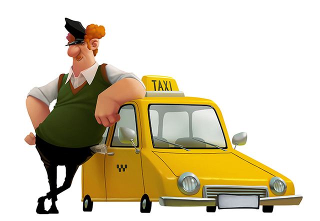 Отличный утренний анекдот про такси