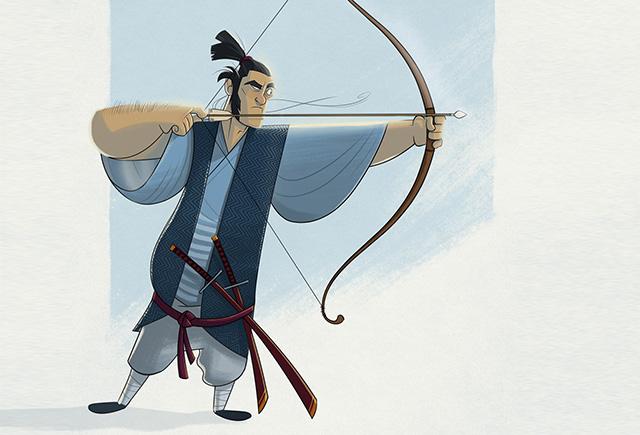 Смешной анекдот о самураях разных национальностей
