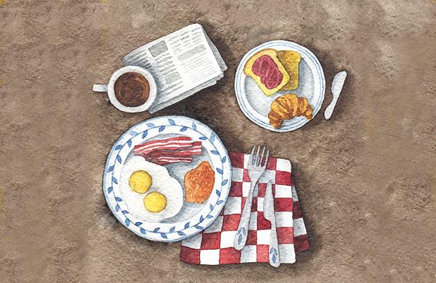 Ребенок попросил приготовить ему очень странный завтрак