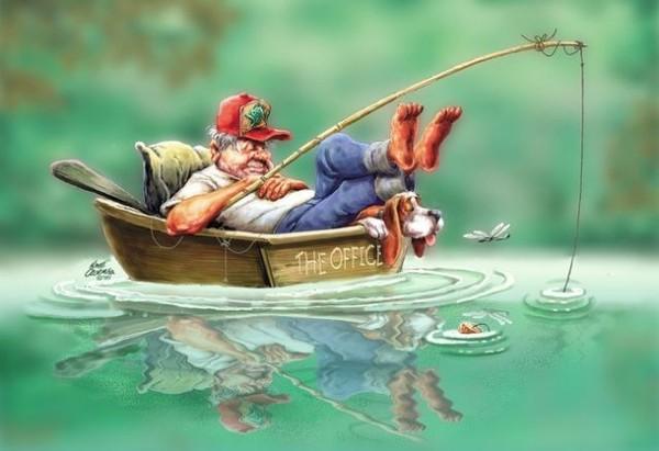 Это для жены было подозрительно, когда муж вдруг захотел поехать на рыбалку. То, что она делает дальше — это гениально!