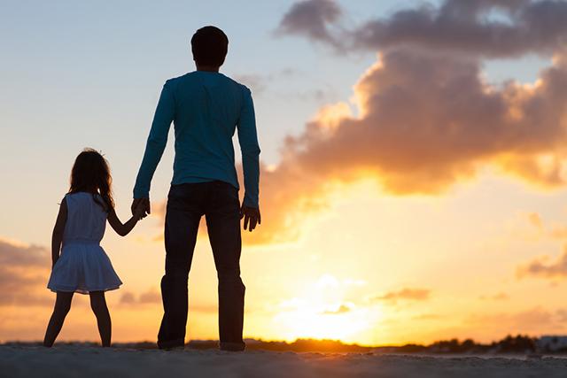 Очень трогательная история про замечательного отца, которого не сломали никакие трудности