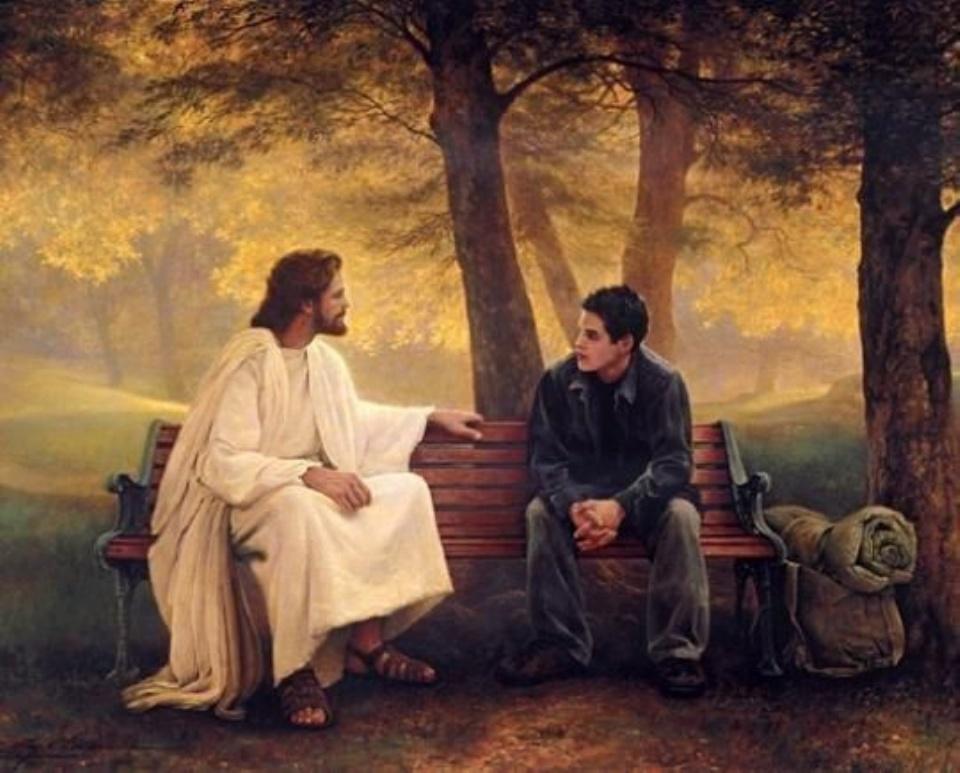 Этот мальчик упаковал свою сумку и ушел из дома искать Бога. Но он не ожидал такой встречи!