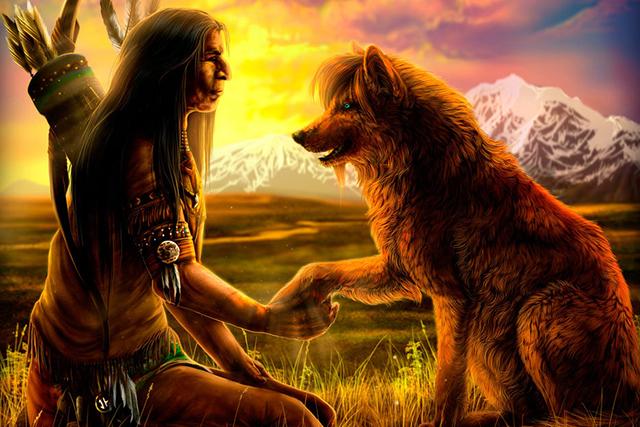 Мудрая истина о двух волках, уживающихся в каждом человеке