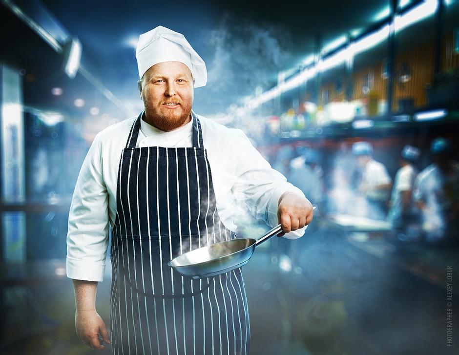 Картинки повар с мясом