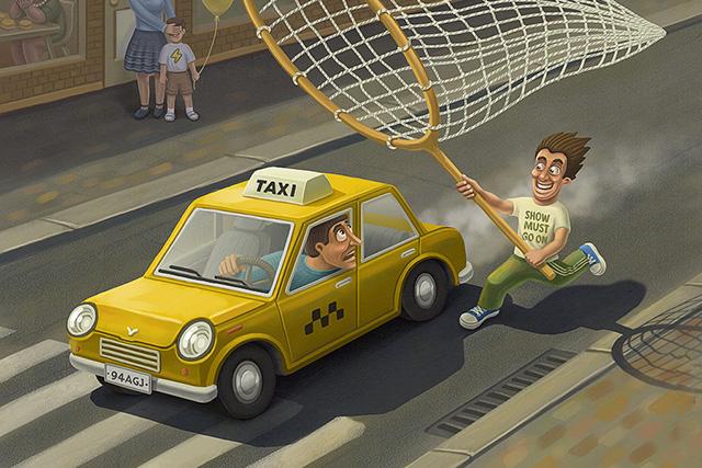Смешная история о таксисте, который слишком мало знал