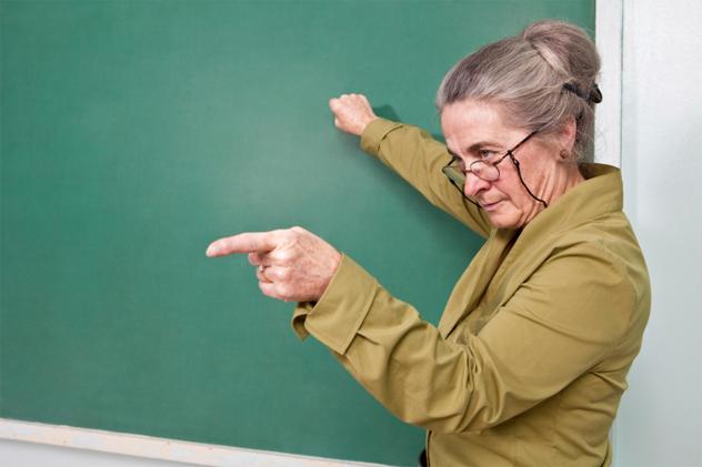 Фраза старой учительницы возвращает на лицо улыбку и заставляет задуматься о жизни