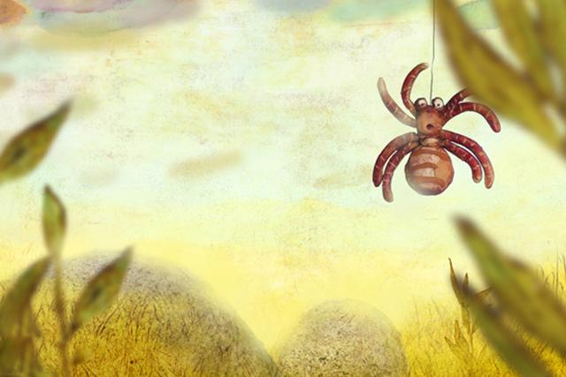Увидев в прихожей огромного паука, она даже не догодывалась о его предназначении