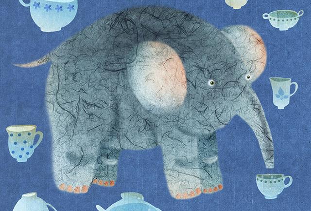Поначалу эта поездка показалась ей полной катастрофой, но этот слон ее на разочаровал