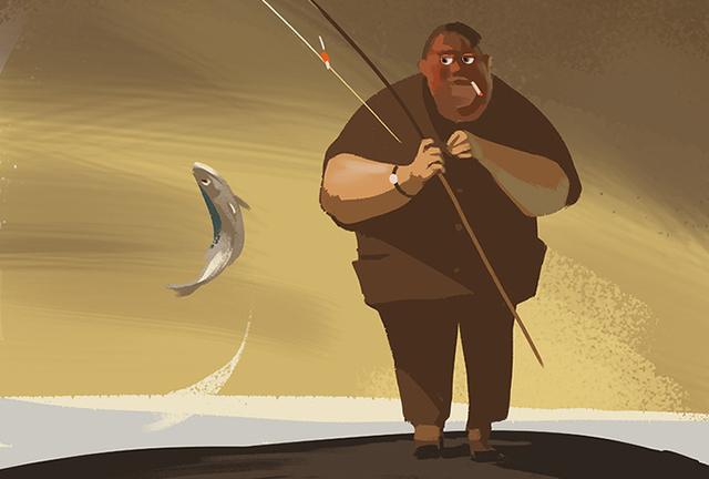 Рыбак, зайдя к начальнику поста, поразил всех своим поступком