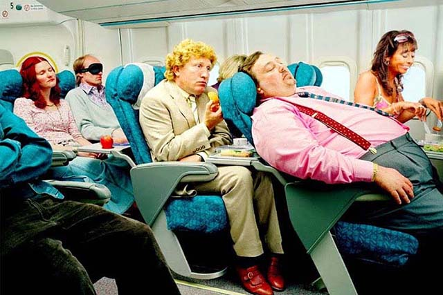 Командир экипажа поразил всех своим монологом, после которого рейс уже не мог пройти спокойно
