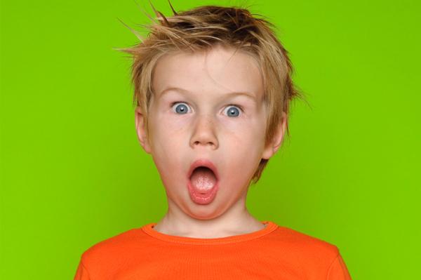 Когда капризный ребенок услышал последнюю фразу, то не мог поверить своим ушам