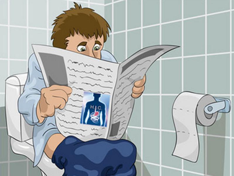 Мужчина просто хотел сходить в туалет.Что произошло дальше — просто умора!