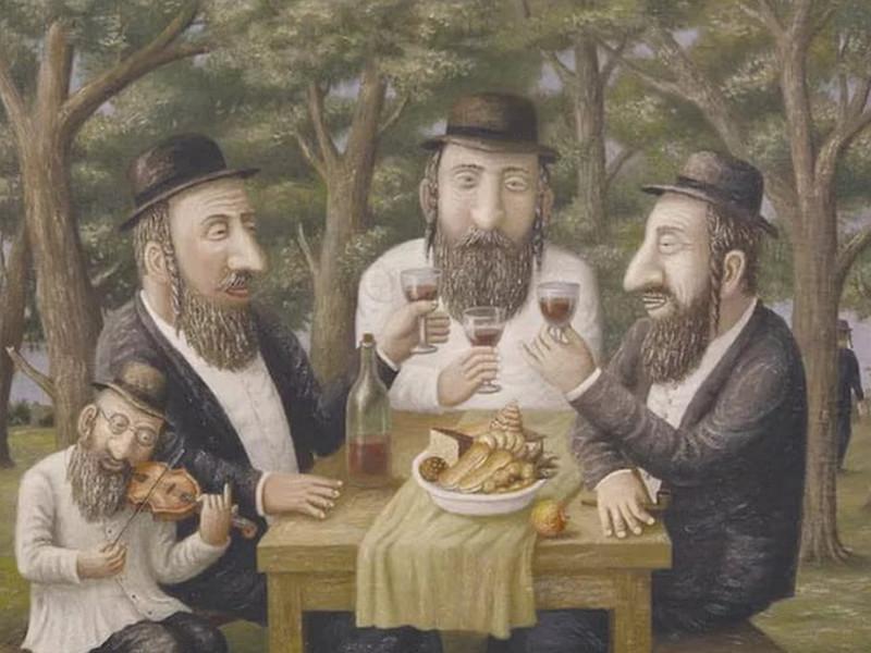 Еврей угостил друга своей картошкой. Не поверишь, где они ее вырастили!
