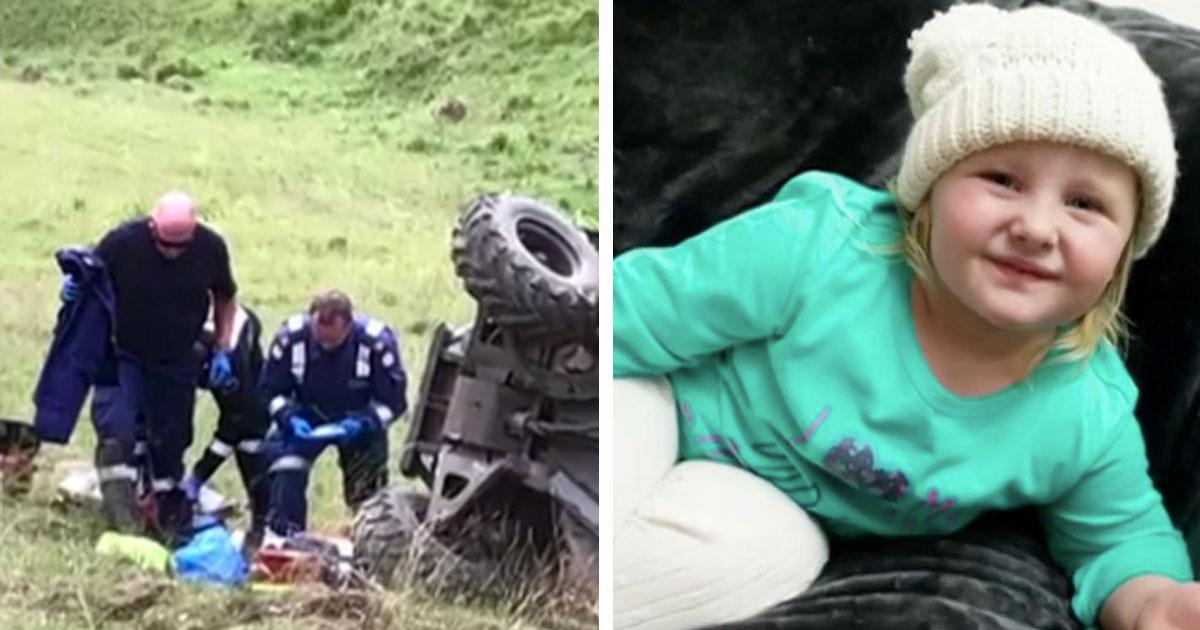 Мама застряла под машиной, в результате аварии на сельской дороге. Тогда ее четырехлетняя дочь спасает ей жизнь!