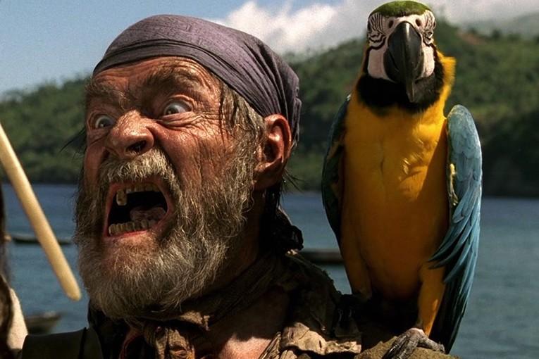 Он очнулся после кораблекрушения и обнаружил, что находится посреди океана вместе с попугаем. То, что сказала ему птица – истерика!