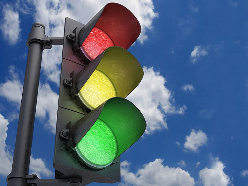 Ситуация, произошедшая на светофоре — просто умора!