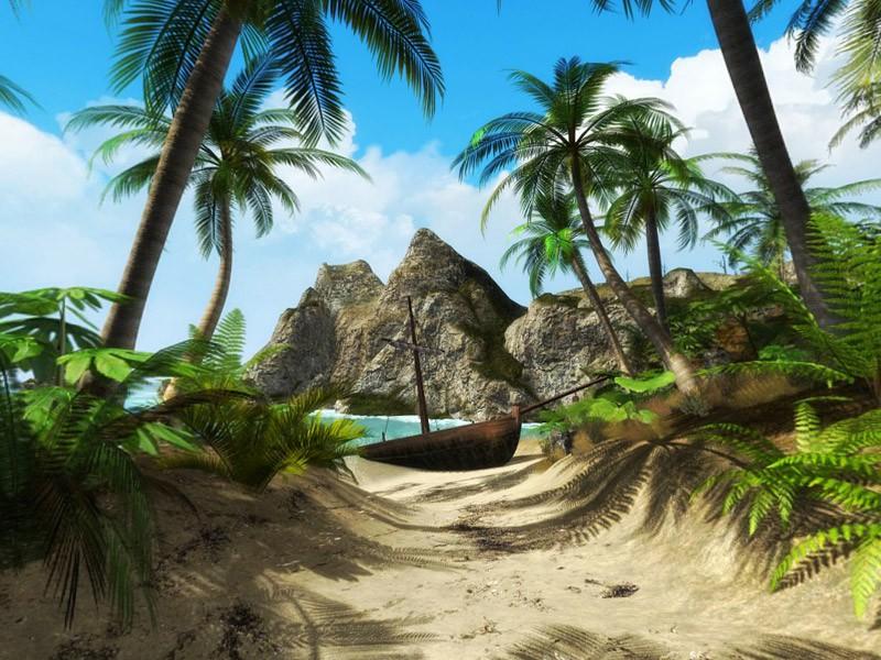 Ситуацию, произошедшую на необитаемом острове — стоит прочитать!