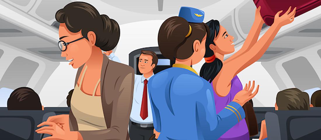 Женщина отказывается сидеть рядом с афроамериканцем. Но то, что произошло дальше – бесценно!