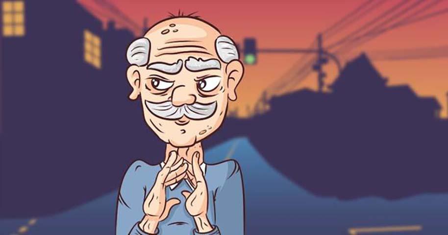 Пожилой джентльмен бросает вызов налоговому аудитору во время проверки. Что он делает — просто отлично!