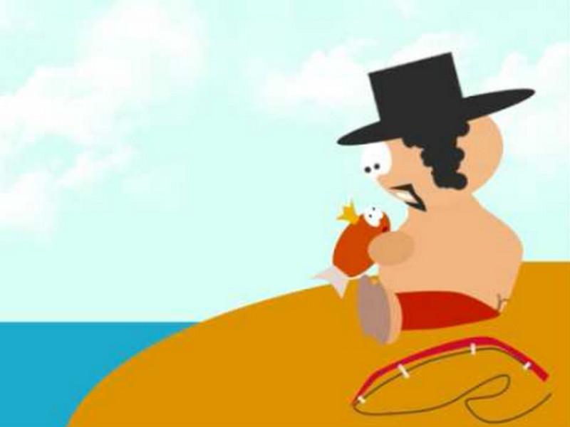 Еврей поймал золотую рыбку, но не успел загадать желание, как она ему выдала нечто!
