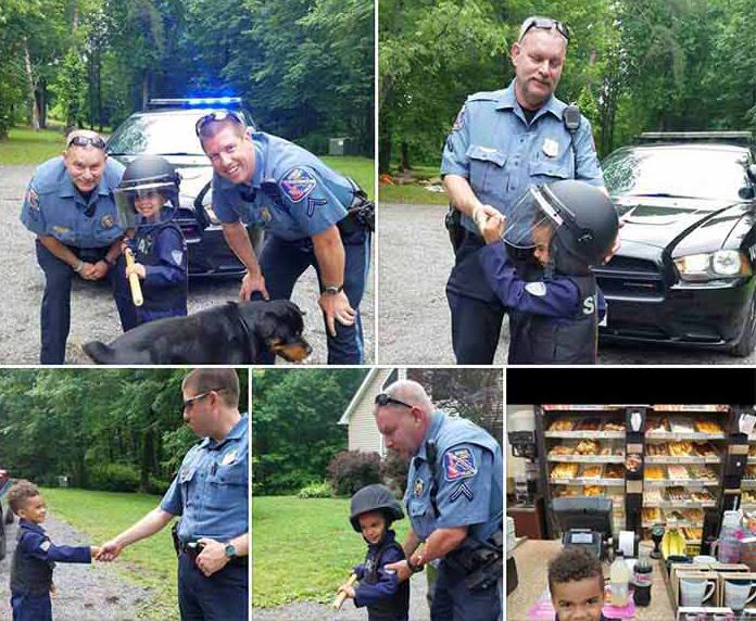 Она была потрясена, когда полицейские сделали это после того, как ее маленький сын позвонил 911. Но тогда произошло это!
