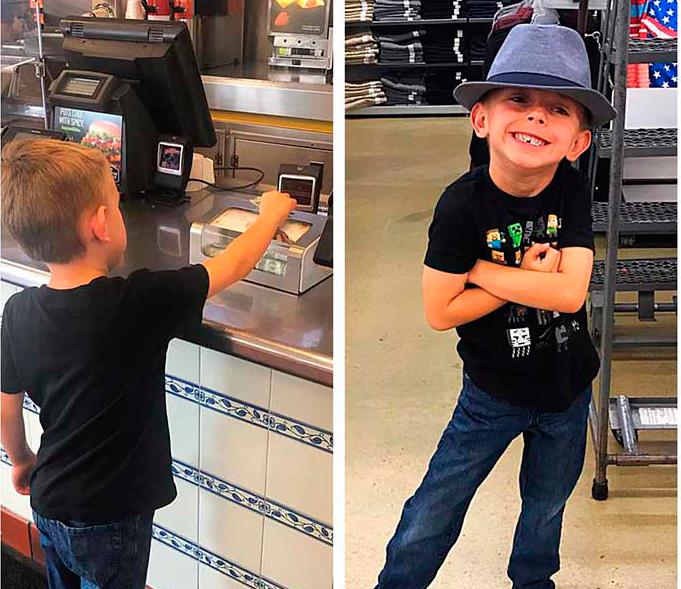 Этот ребенок увидел коробку для пожертвований для больных детей. Но следующий его вопрос заставил отца удивиться!