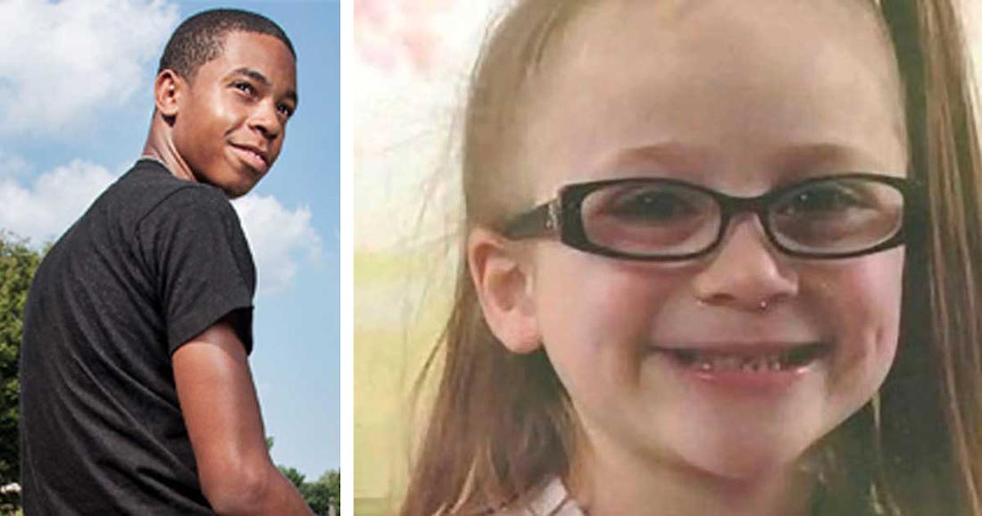 Мужчина похищает 5-летнюю девочку, но затем два подростка спасают ее, сказав всего три слова!