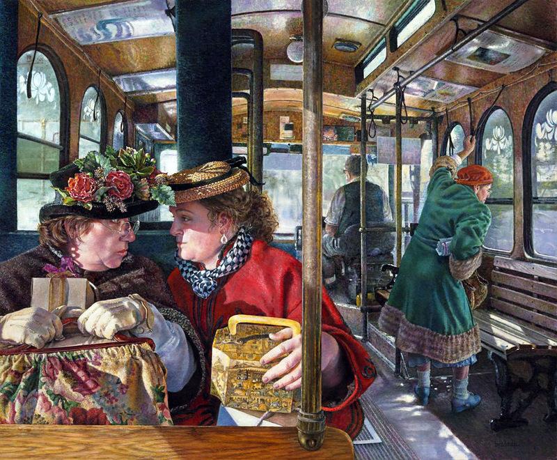 Две дамы в одесском трамвае услышали о спасении утопающей. То, что они дальше обсудили стоит прочитать!