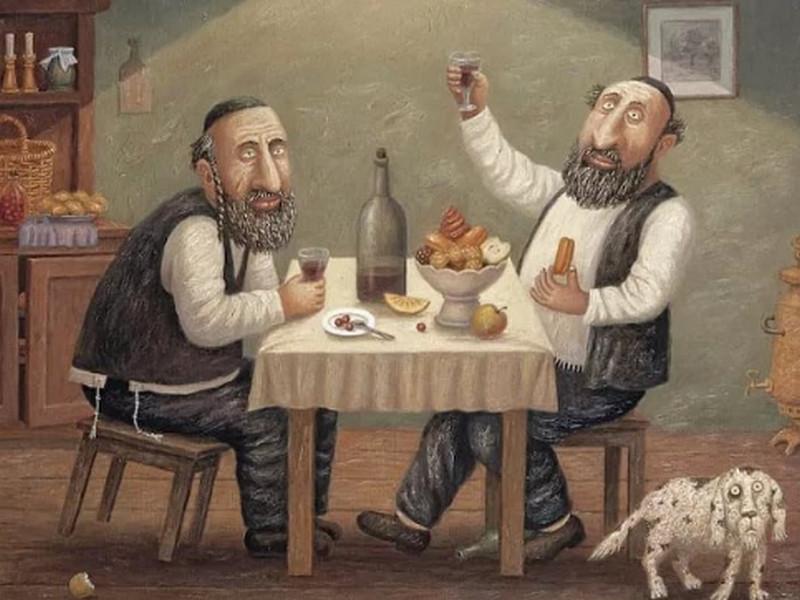 Один еврей жалуется другому на свою интимную жизнь и жены. Только послушай их диалог!