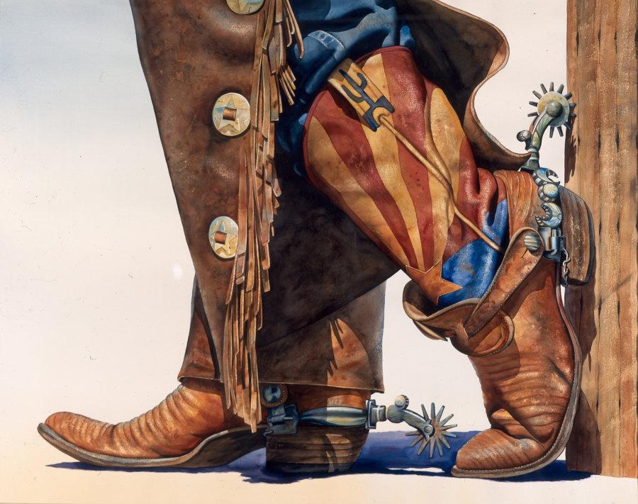 Пожилой мужчина так гордился своими новыми ковбойскими сапогами, но реакция его жены – фантастика!