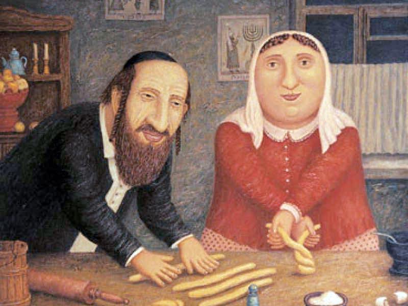 Рабинович потерял кошелек и не мог его найти. То, что он ответил жене тебя развеселит!