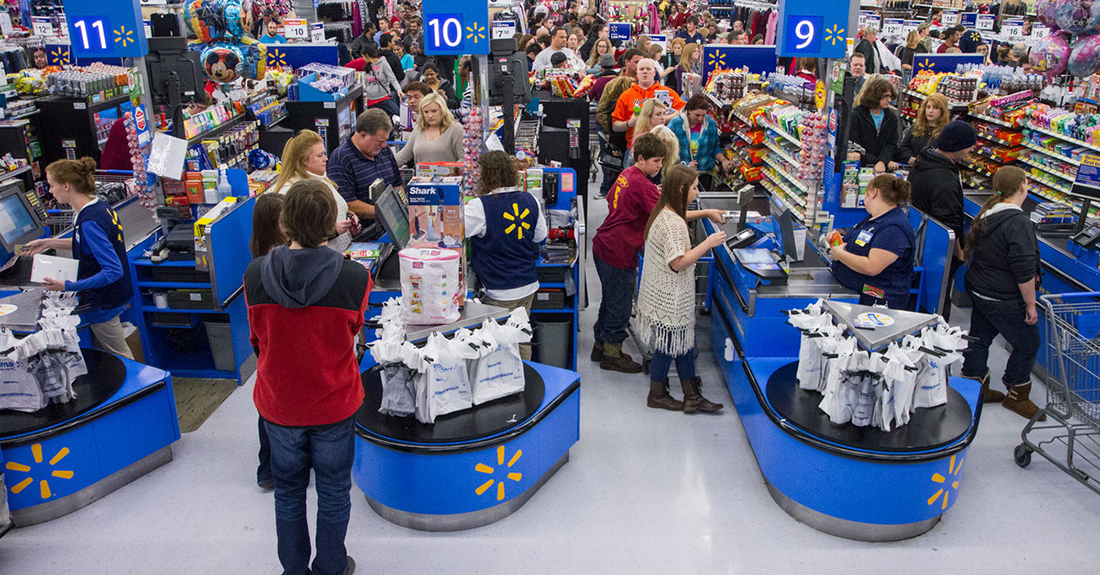 Мужчина пошел в Walmart. Затем произошла эта шокирующая ситуация!