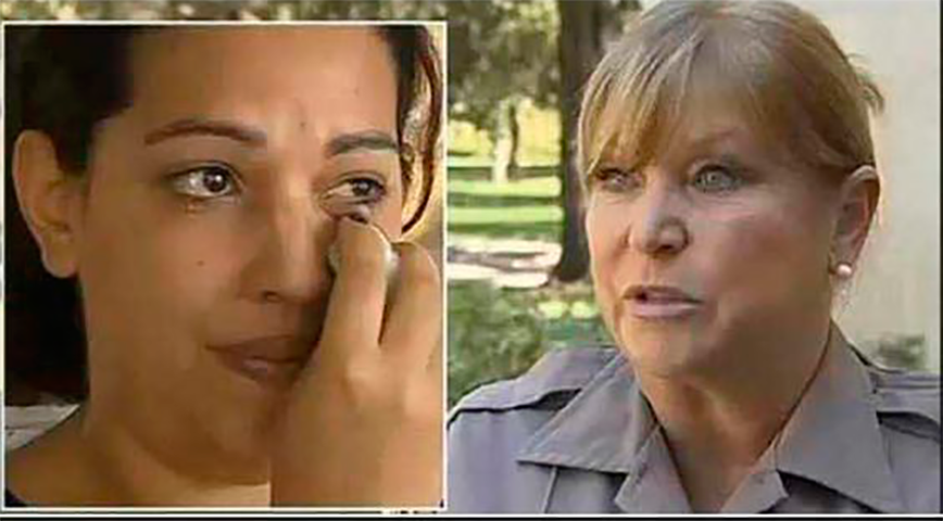Офицер должна была арестовать эту женщину за кражу продуктов в магазине. То, что произошло дальше – бесценно!