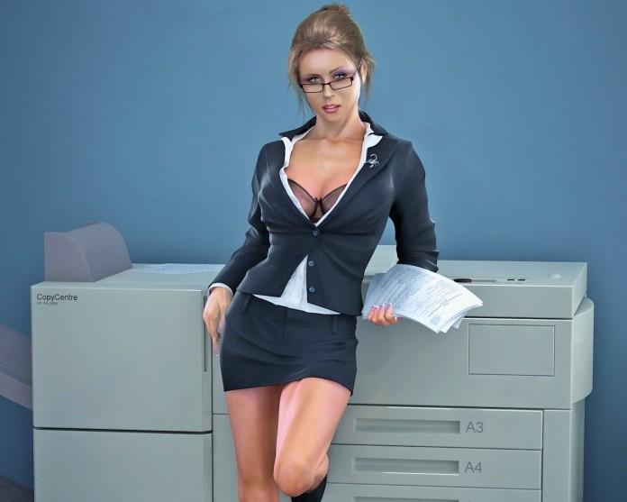 Два адвоката пытаются соблазнить свою секретаршу, но результат – шок!