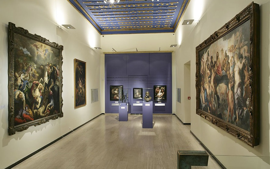 Пара была смущена картиной в художественной галерее. Но то, что ирландец рассказывал об этом шедевре – бесценно!