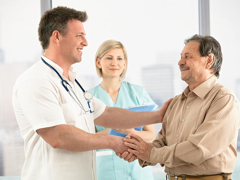 Разговор доктора и пациента очень забавный! :)