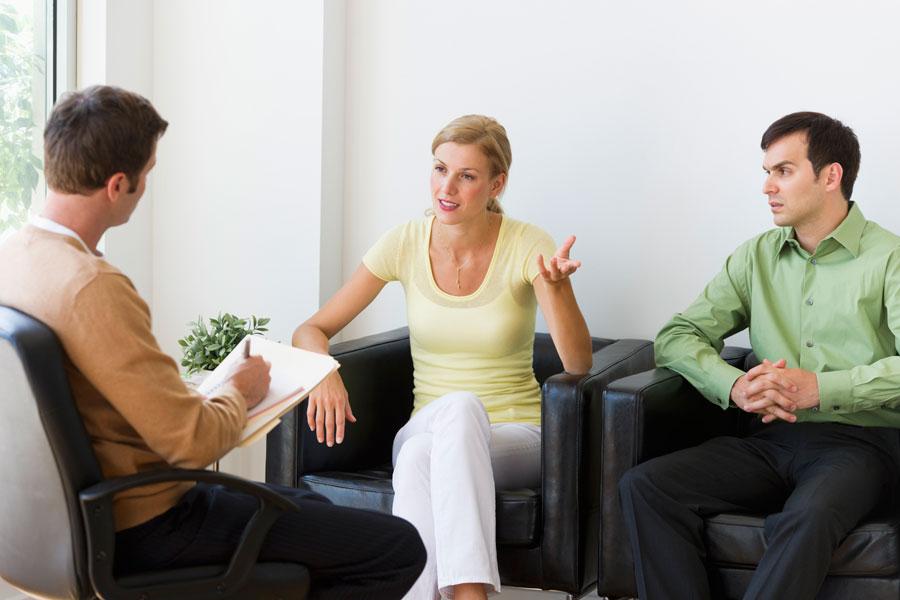 У психолога был какой-то довольно своеобразный совет для этой пары, но ответ мужа – бесценно!