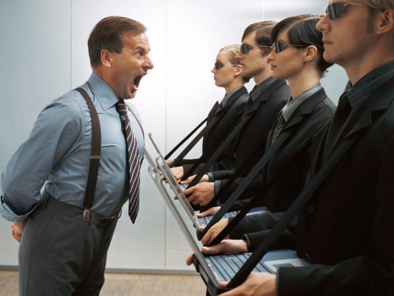 То, как начальник отреагировал на новость сотрудника — очень смешно!