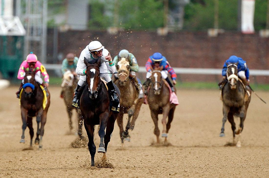Владелец скаковой лошади теряет терпение, но реакция животного – неожиданно!