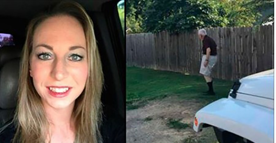Муж резко выпрыгивает из автомобиля, жена осознает ситуацию и быстро хватает камеру!