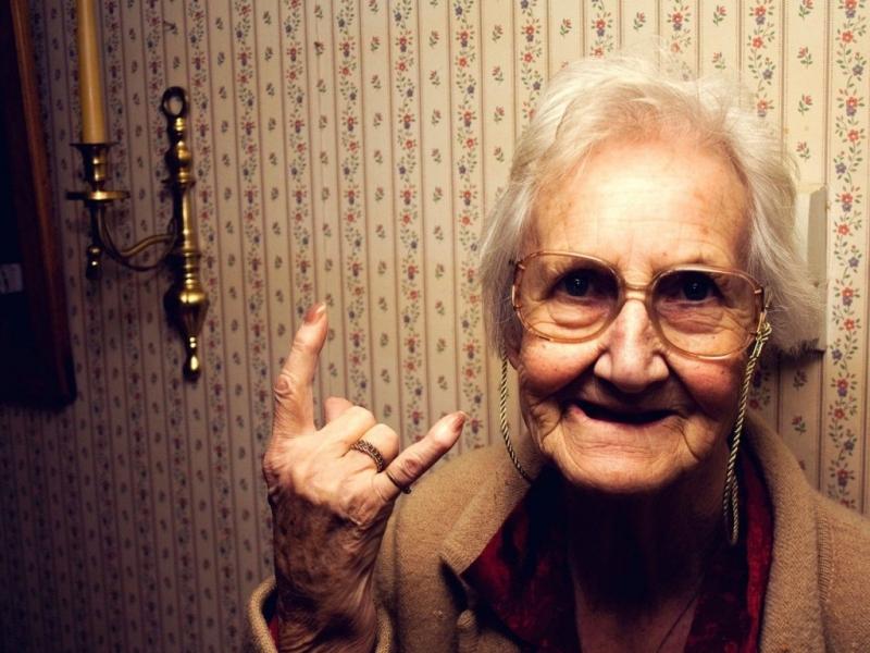 У бабули видно и правда доброты без границ! :)