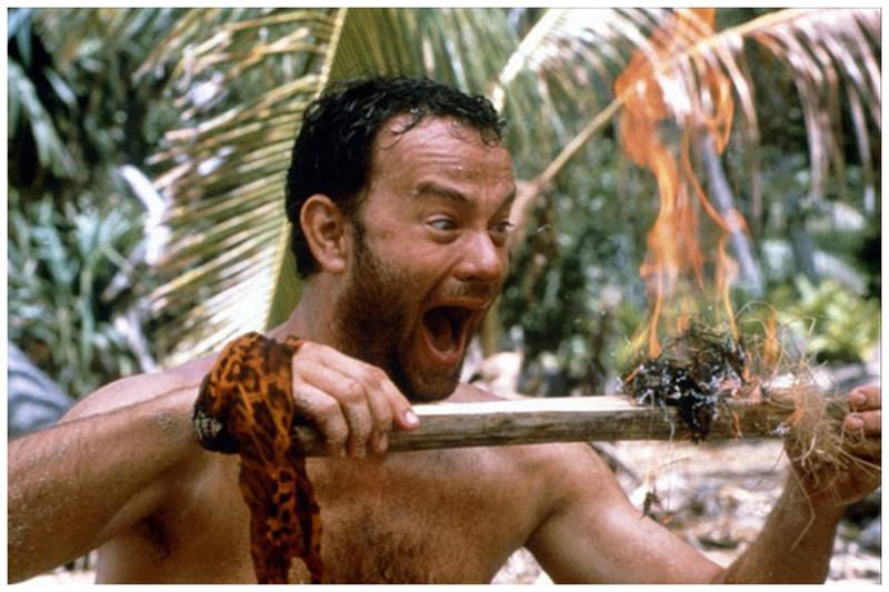 После того, как мужчина пробыл на пустынном острове более 10 лет, все, о чем он мог подумать, это – ЭТО!