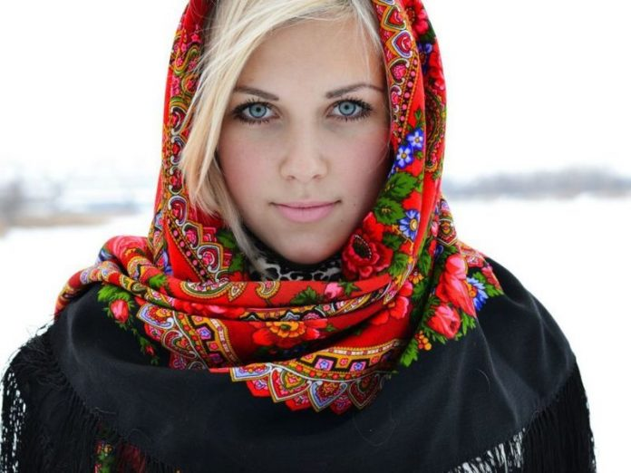 русские фото женщины