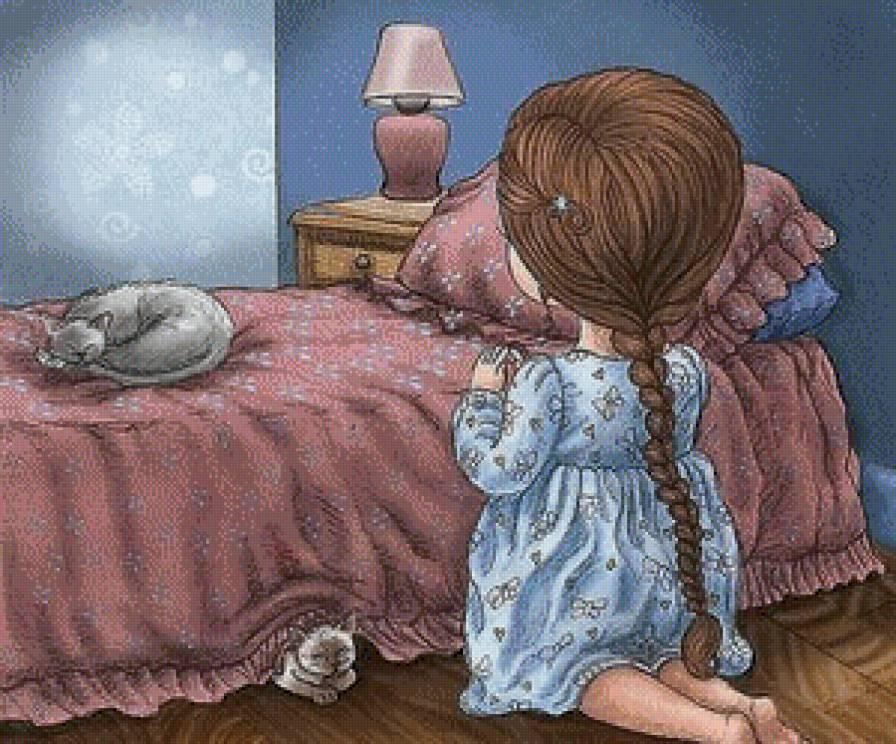 Мама увидела, как ее маленькая девочка молится в своей спальне, но не могла поверить в то, что она просила!