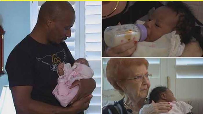 Отцу-одиночке не разрешили сесть в самолет с его новорожденной дочерью. То, что сделала незнакомка для него — действительно трогательно!