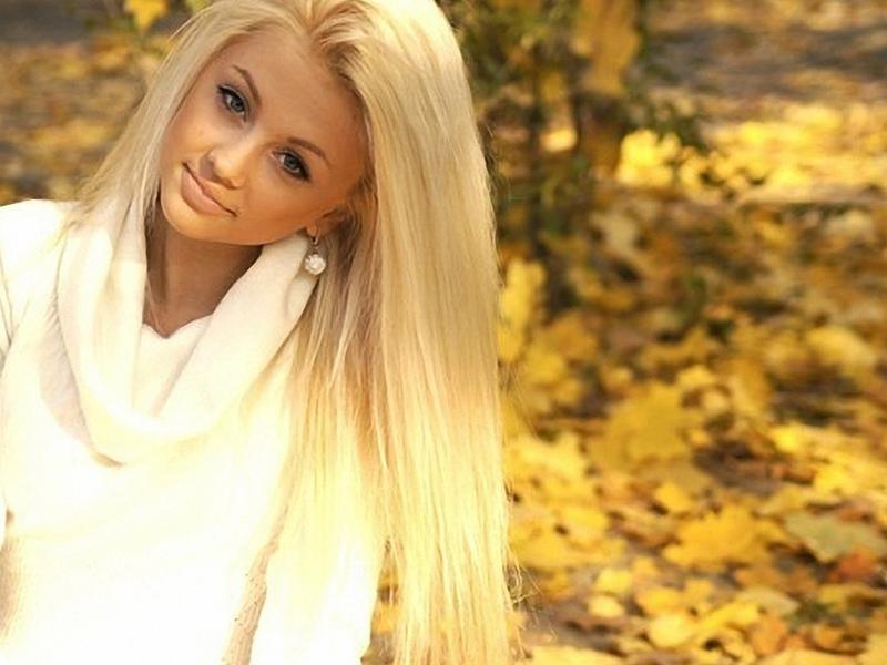 Учтите, что блондинки бывают совершенно разные!