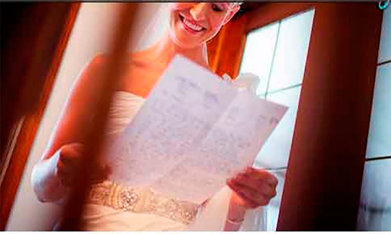 Ее свекровь передала ей записку в день свадьбы. Но она не ожидала такого!
