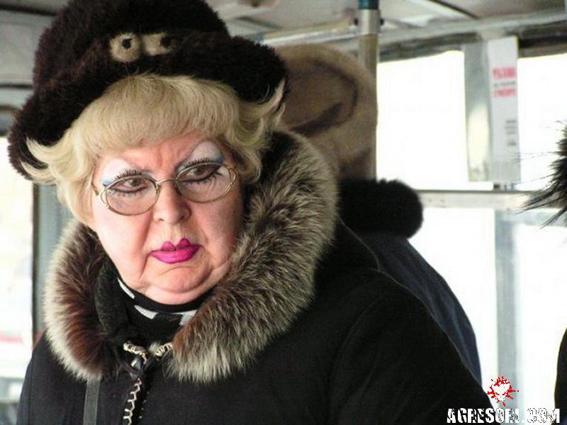 Эта наглая тетка в следующий раз подумает, как вести себя в автобусе!