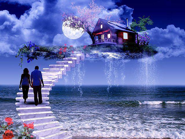 Муж воссоединяется с женой на небесах, но он ошеломлен, когда она говорит это!